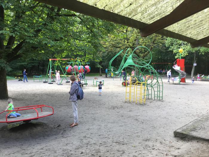 Speeltuin Pyramide van Austerlitz